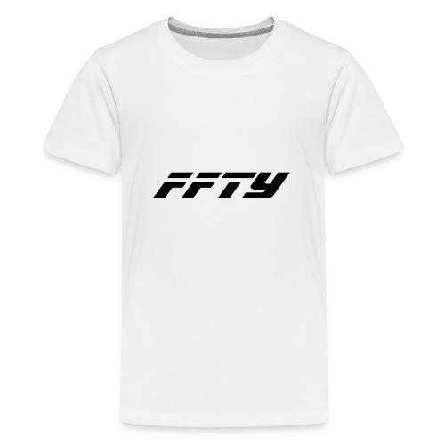 FFTY Schriftzug - Teenager Premium T-Shirt