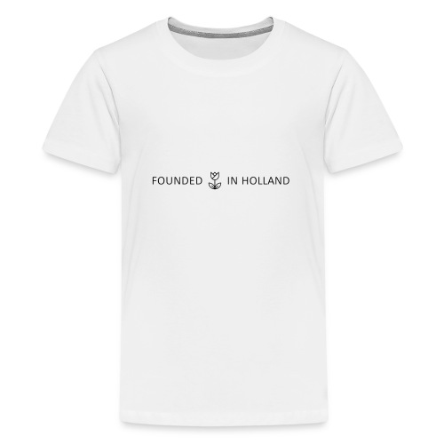 logofoundedinholland - Teenage Premium T-Shirt