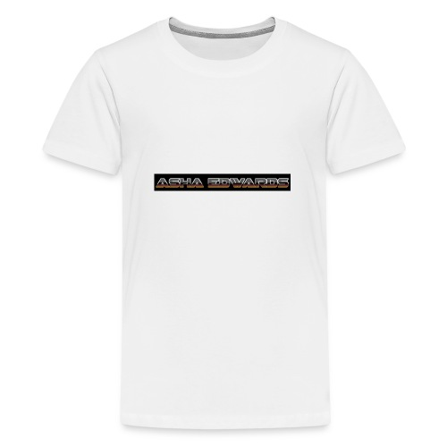 Asha_Edwards_Merch_ - Teenage Premium T-Shirt