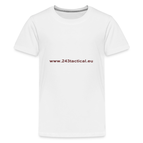 .243 Tactical Website - Teenager Premium T-shirt