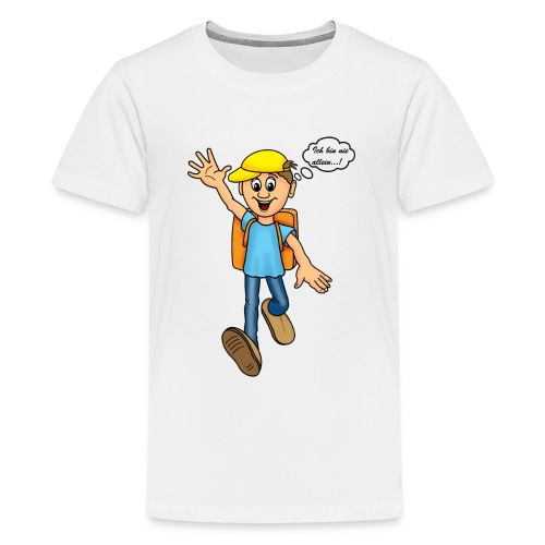 Schuljunge - Teenager Premium T-Shirt