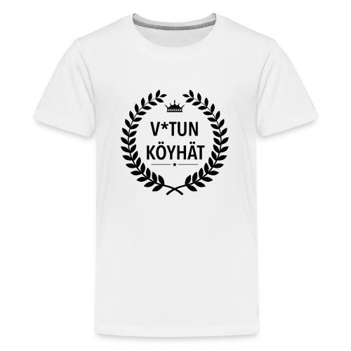 vitun köyhät - Teinien premium t-paita