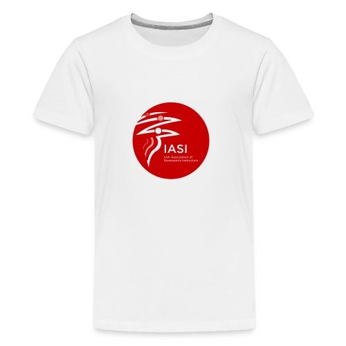 iasi red c60000 - Teenage Premium T-Shirt