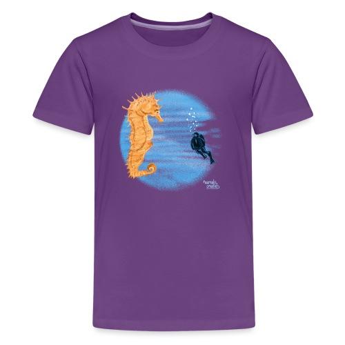 hippocampe - T-shirt Premium Ado