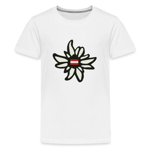 Edelweiss Austria - Teenager Premium T-Shirt