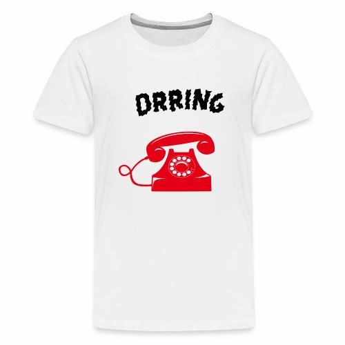 Téléphone vintage qui sonne - T-shirt Premium Ado
