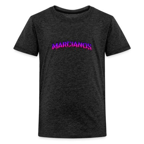 Logo Marcianos Trap - Camiseta premium adolescente