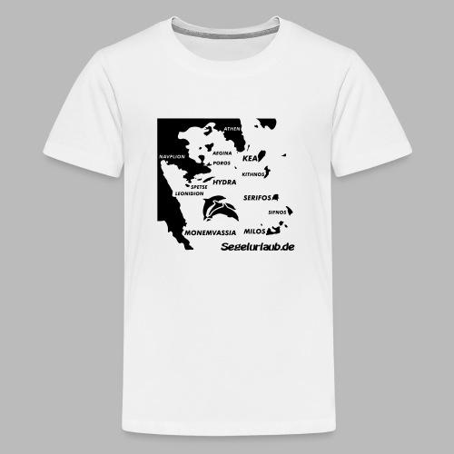 pelepones_kykladen - Teenager Premium T-Shirt