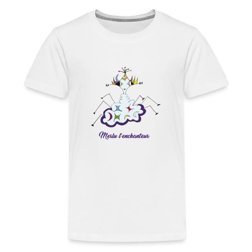 Merlu l'enchanteur - T-shirt Premium Ado