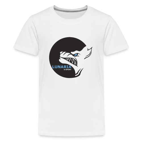 Lunaria_Logo tete pleine - T-shirt Premium Ado