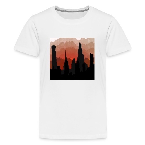 SCAPE1 - Teenage Premium T-Shirt