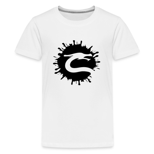 Dragemester_Sort - Teenager premium T-shirt