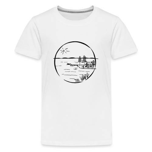 île idyllique - T-shirt Premium Ado