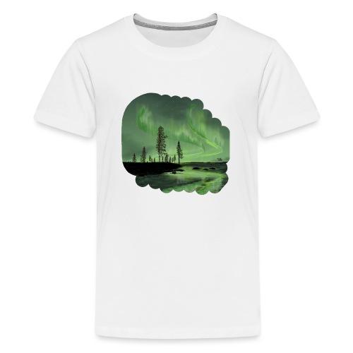 Noorderlicht reflectie - T-shirt Premium Ado