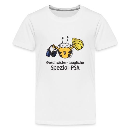 Geschwister taugliche Spezial PSA - Teenager Premium T-Shirt