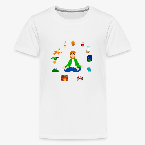 HYGGE Meditaion - Camiseta premium adolescente