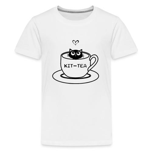 CAT TEA - T-shirt Premium Ado