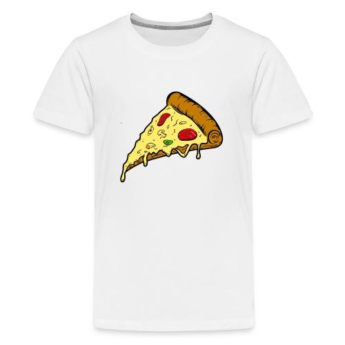 pizza pizza pizza - Camiseta premium adolescente