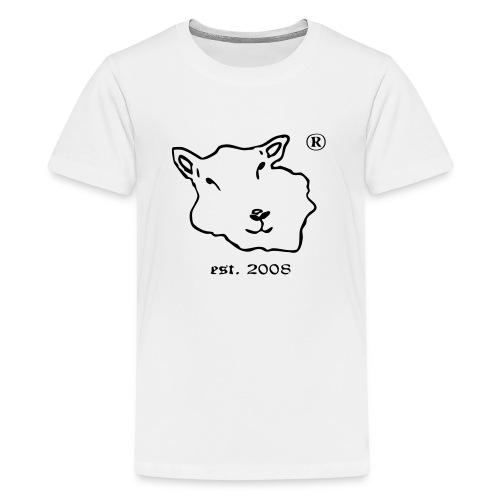Floer von Foehr est 2008 vector kleiner.ai - Teenager Premium T-Shirt