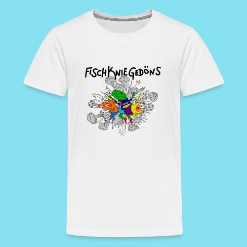 logoszschwarz png - Teenager Premium T-Shirt