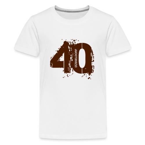 City_40_Düsseldorf - Teenager Premium T-Shirt