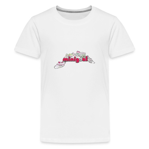 Maglietta Donna Liguria - Maglietta Premium per ragazzi
