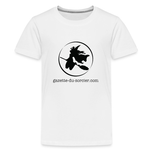 T-shirt logo Gazette - T-shirt Premium Ado
