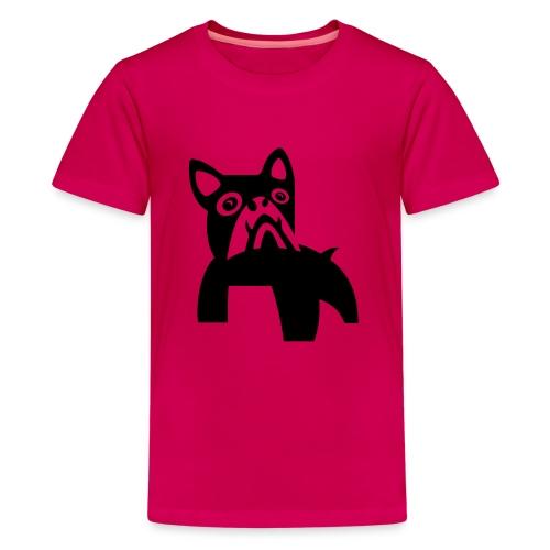 MadDog_kunst mit hund.eps - Teenager Premium T-Shirt