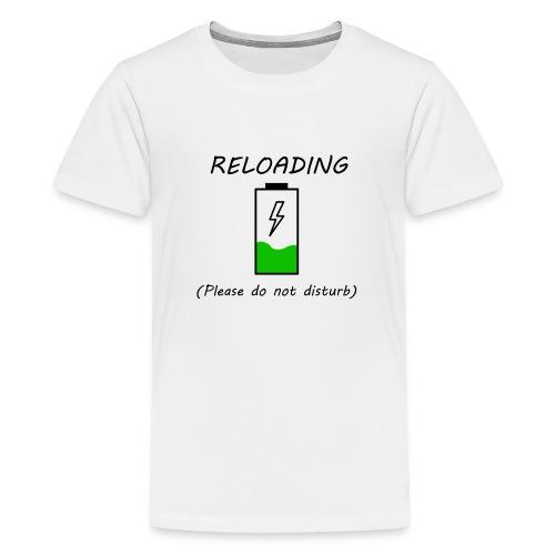 Cargando - Camiseta premium adolescente