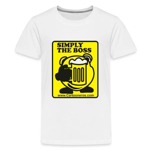 Simply the Boss - Teenage Premium T-Shirt