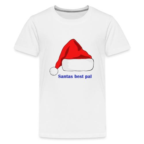 Isle of Santas Pal - Teenage Premium T-Shirt