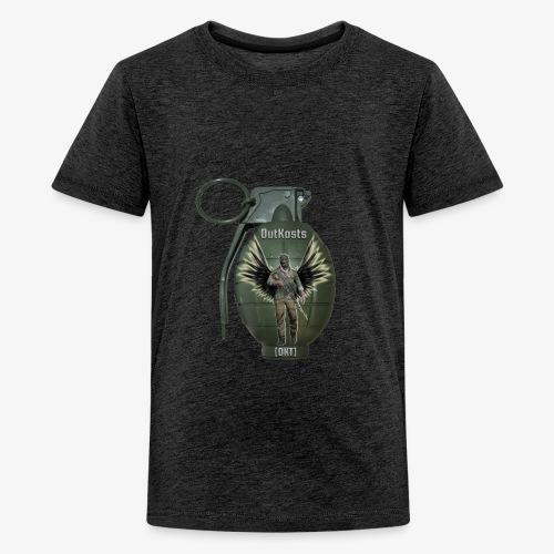 grenadearma3 png - Teenage Premium T-Shirt