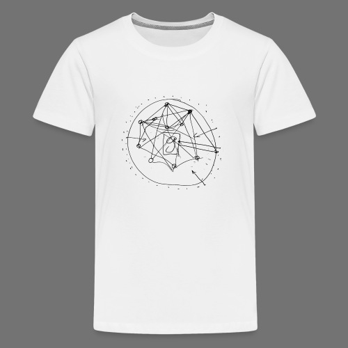 SEO Strategy No.1 (black) - Teenage Premium T-Shirt