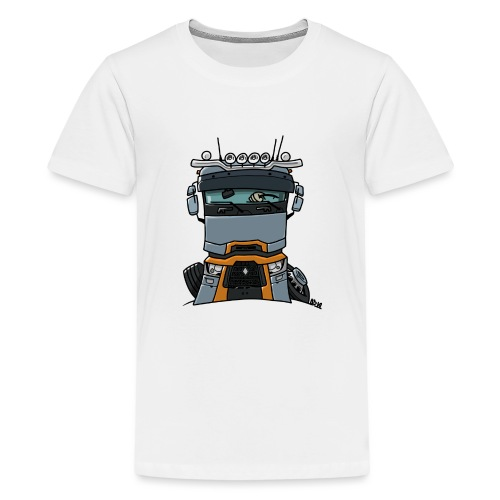 0813 R truck - Teenager Premium T-shirt