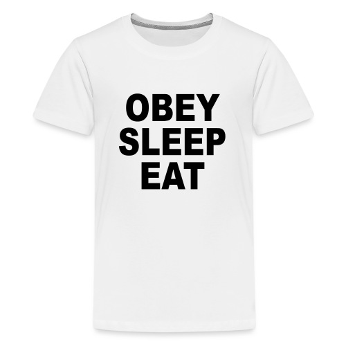 obey sleep - T-shirt Premium Ado