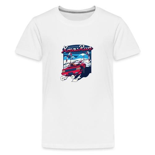 XmasRun - Teenager Premium T-Shirt