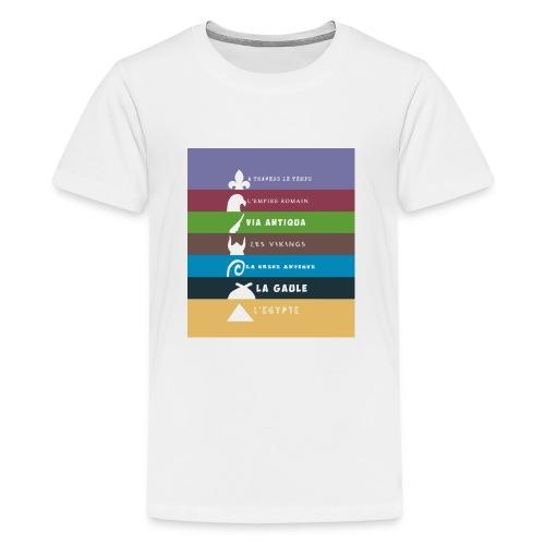 logo zone boutix - T-shirt Premium Ado