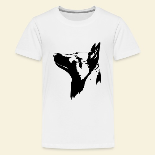 Malinois Portrait - Teenager Premium T-Shirt