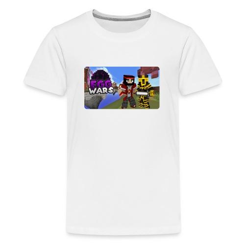EggWars Manu y Massi - Camiseta premium adolescente