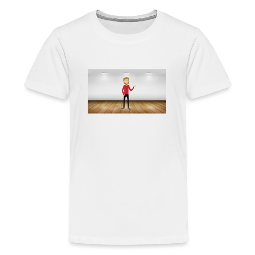 Youtubeman-png - Camiseta premium adolescente