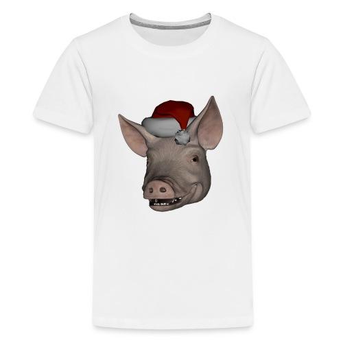 Merry Christmas - Premium T-skjorte for tenåringer