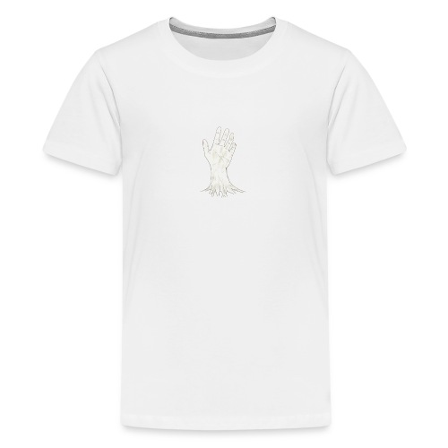 ZOMBIE HAND - Camiseta premium adolescente