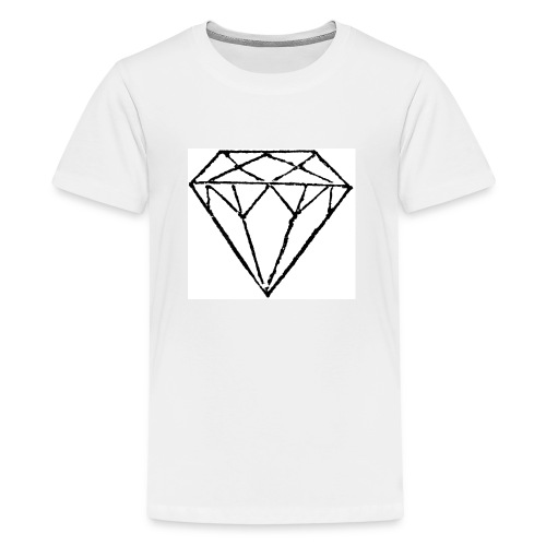 Diamond - Premium-T-shirt tonåring