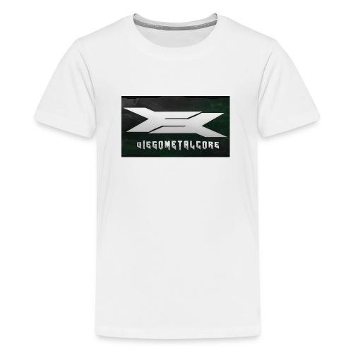 LOGO YT more resolution png - Teenage Premium T-Shirt