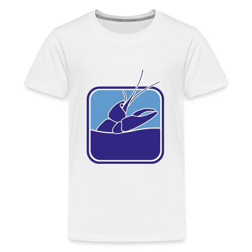 Flusskrebs-Aquarium III - Teenager Premium T-Shirt