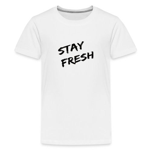 Fresh Long Top - Teenage Premium T-Shirt
