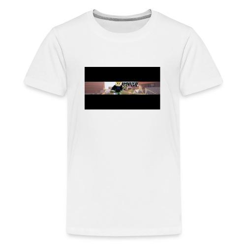 YouTube Banner DominikPlay png - Teenager Premium T-Shirt