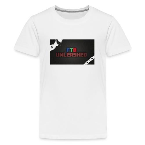 FEED THE BEST PILO CASE - Teenage Premium T-Shirt