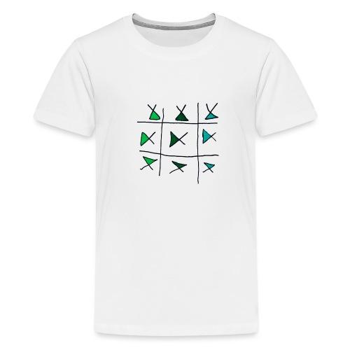 horizontaal verticaal - Teenager Premium T-shirt