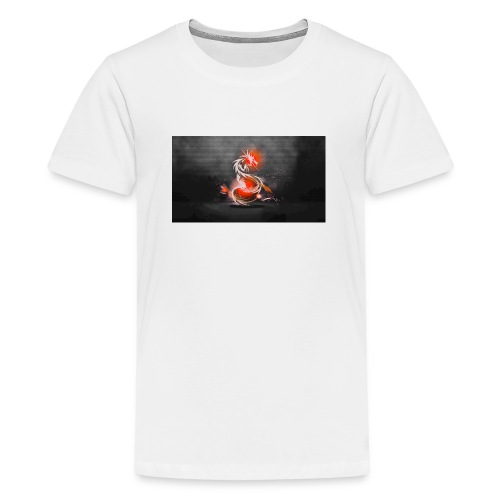 dark dragons jpg - Teenage Premium T-Shirt